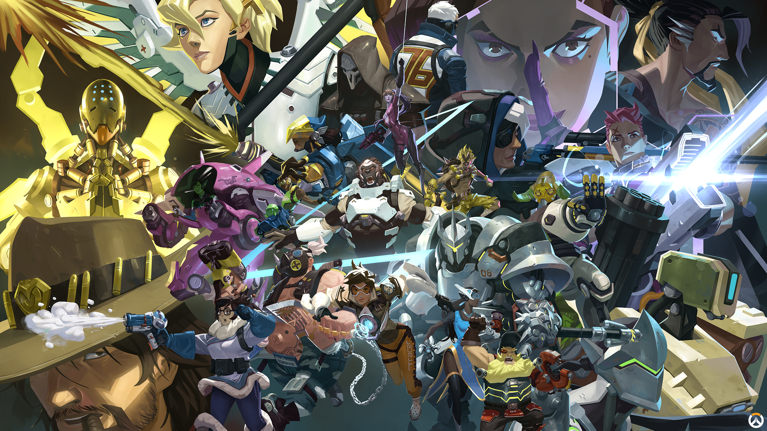Can We Get An Overwatch Anniversary Computer Wallpaper Overwatch