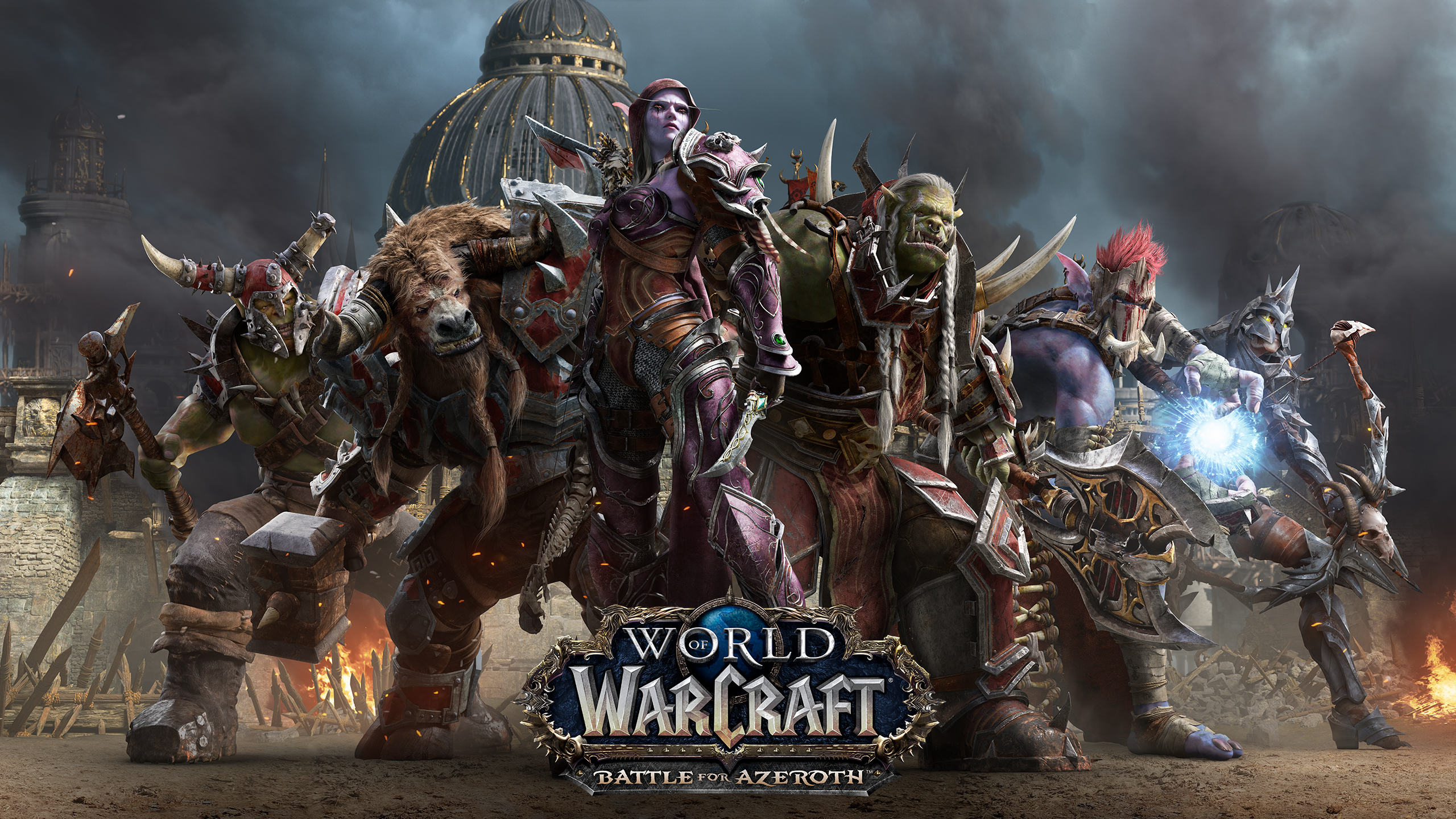 World Of Warcraft Wallpaper Bfa: Battle For Azeroth Wallpaper [2560x1440] : Wow